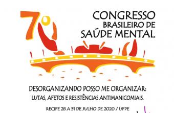 Inscrições abertas para o 7º Congresso Brasileiro de Saúde Mental
