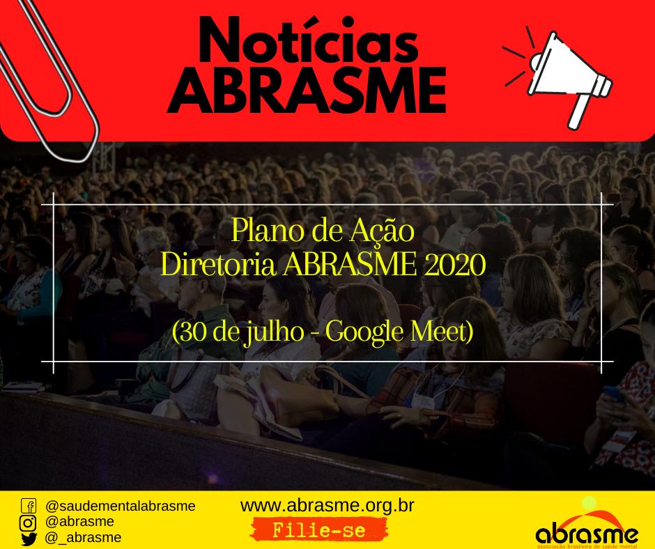 Plano de Ação - Diretoria ABRASME 2020