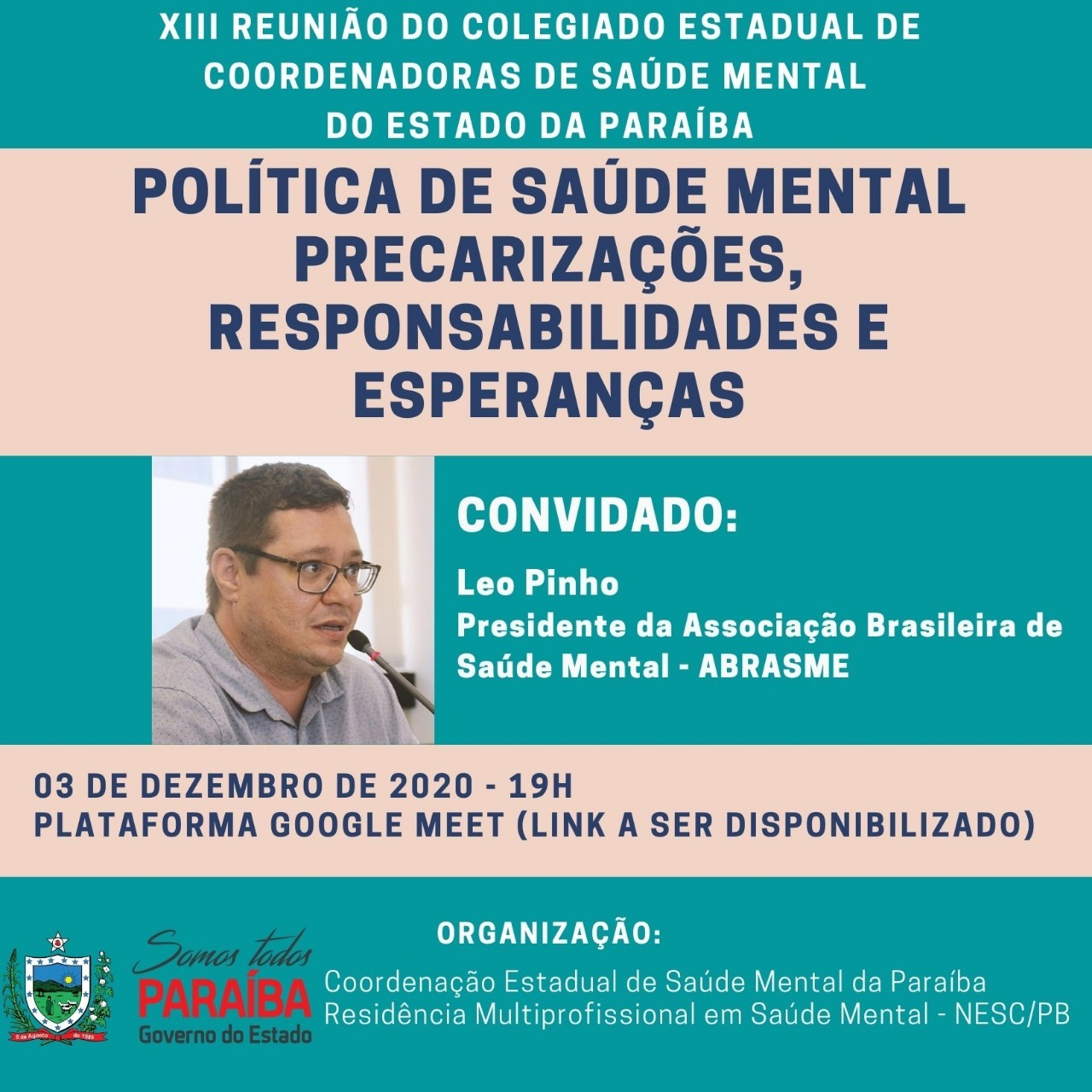 Presidente da ABRASME participa de Live Saúde Mental criança e adolescente: Excluir ou Protagonizar?