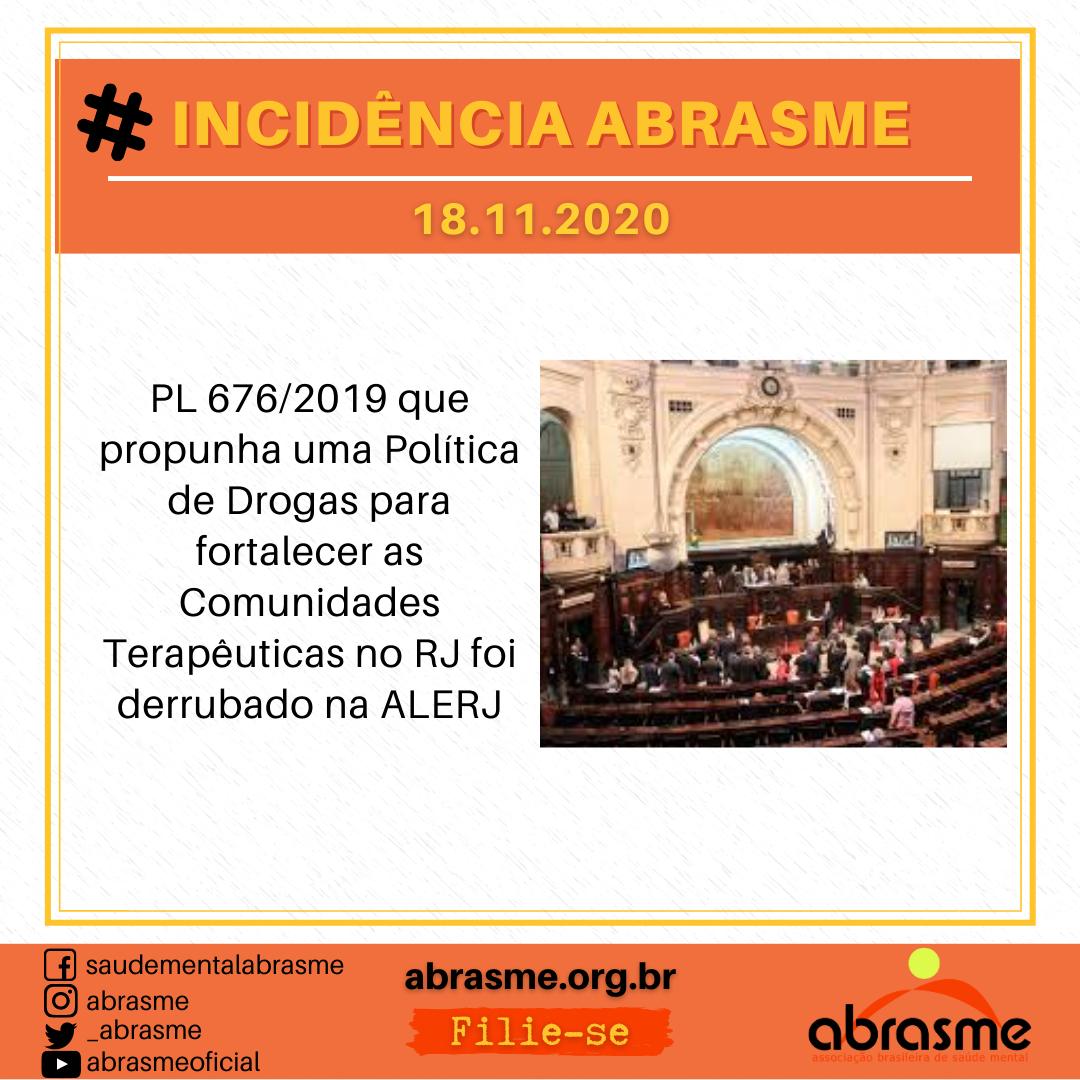 Nota Técnica da ABRASME sobre o revogaço na Política Nacional de Saúde Mental, Álcool e Outras Drogas no Brasil