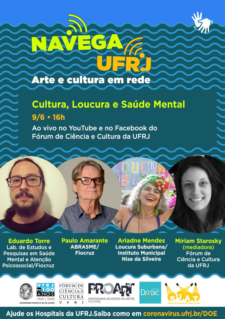 Navega UFRJ: Cultura, Loucura e Saúde Mental